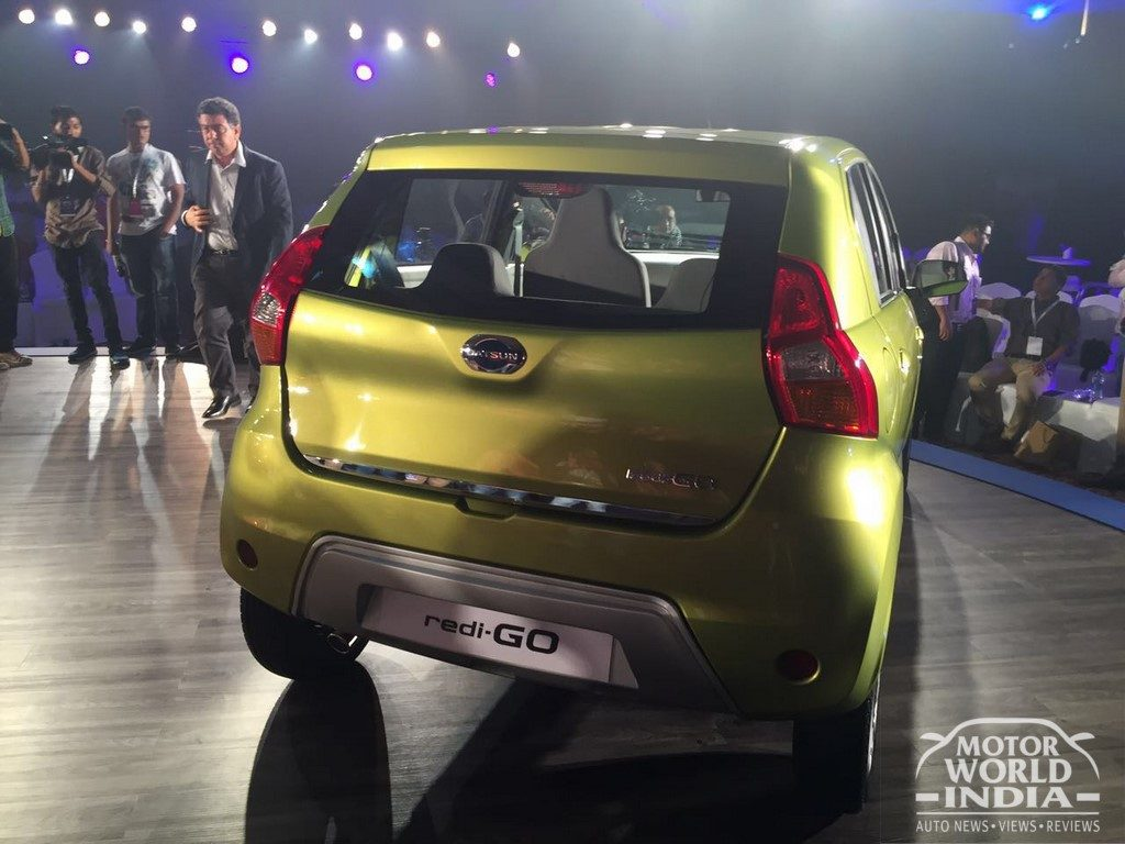 Datsun Redigo Unveil World Premiere