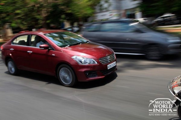 Maruti Suzuki Ciaz Front Three Quarter