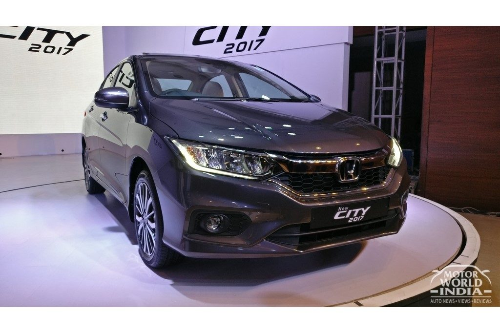 India accounts for 25% of global sales for the Honda City