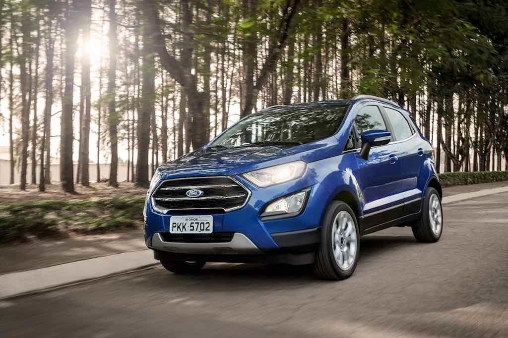 2018 Ford Ecosport details released in Brazil, will reach India by year end