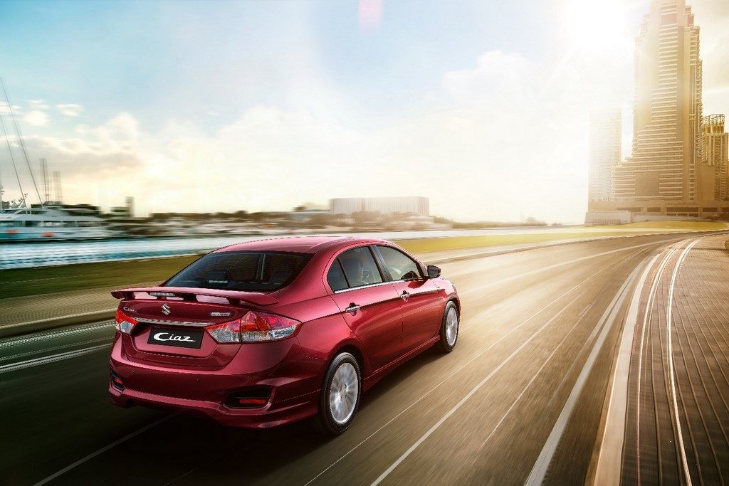 Sporty looking Maruti Ciaz S launched at Rs. 9.39 lakhs