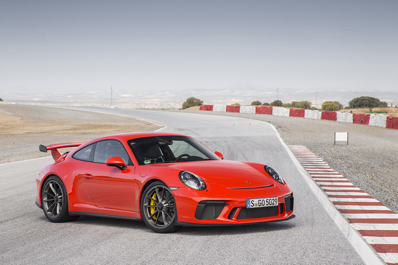 Porsche Launches New 911 GT3 at Rs. 2.31 Crore