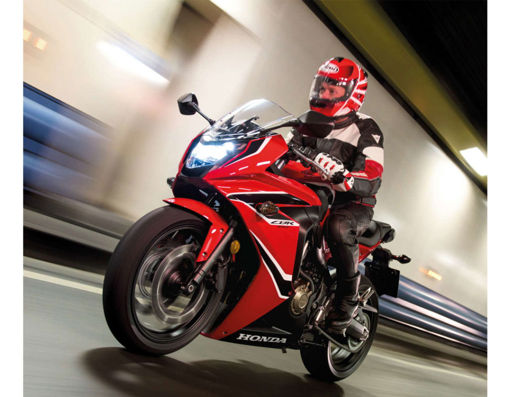 Honda Launches 2017 CBR650F Priced at ₹ 7.3 Lakh