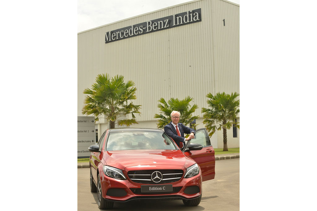 Mercedes Benz Launches Special C-Class Edition C at Rs. 42.54 Lakh