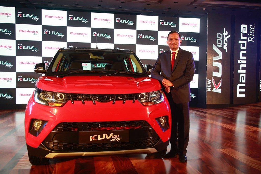 Mahindra KUV100 NXT launched at Rs. 4.39 lakhs