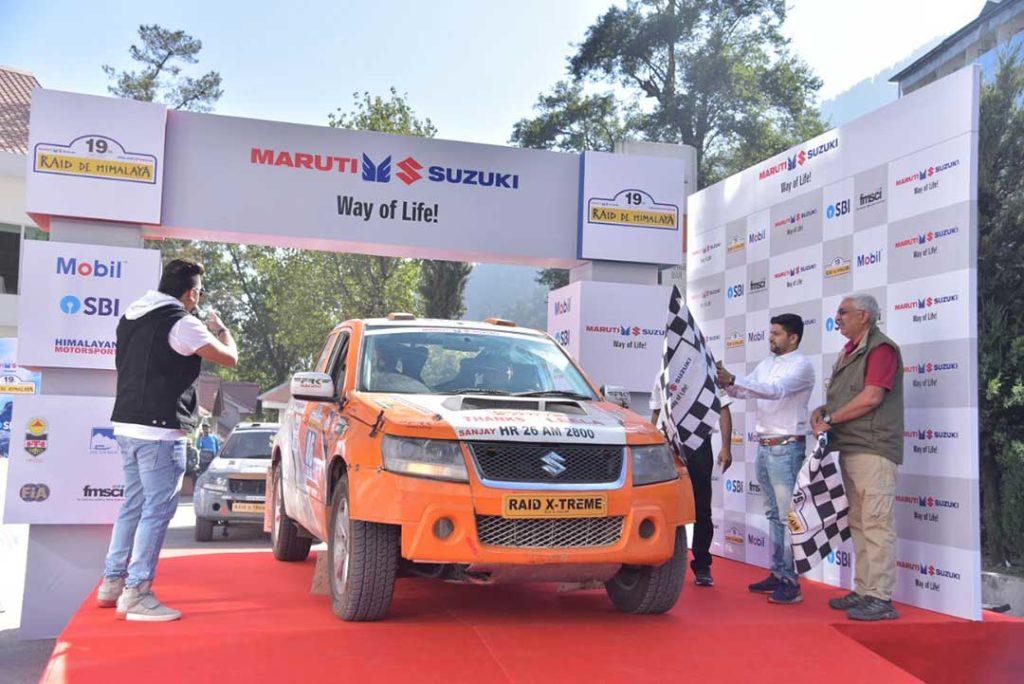 19th Maruti Suzuki Raid De Himalaya sets off from Manali
