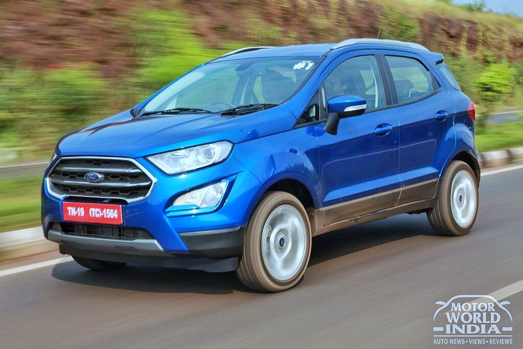 2017 Ford EcoSport facelift launched at Rs. 7.31 lakhs