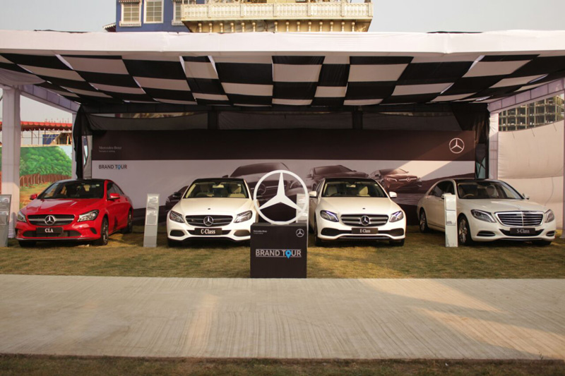 Mercedes-Benz kicks off unique 'Brand Tour' in Tier 2,3 cities