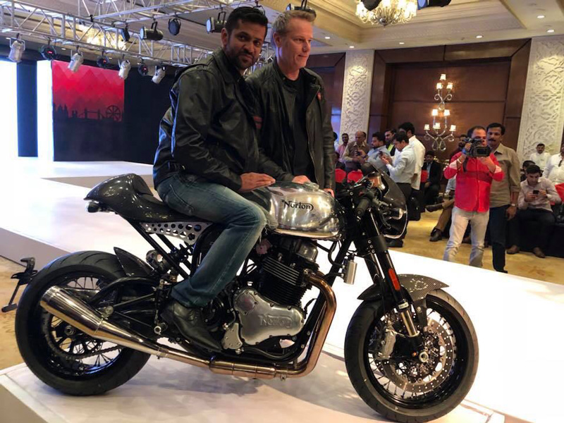 Norton Motorcycles & Kinetic Motoroyale Enter into a Joint Venture