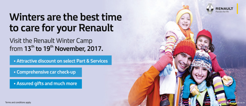 Renault Begins its Winter Service Camp across India