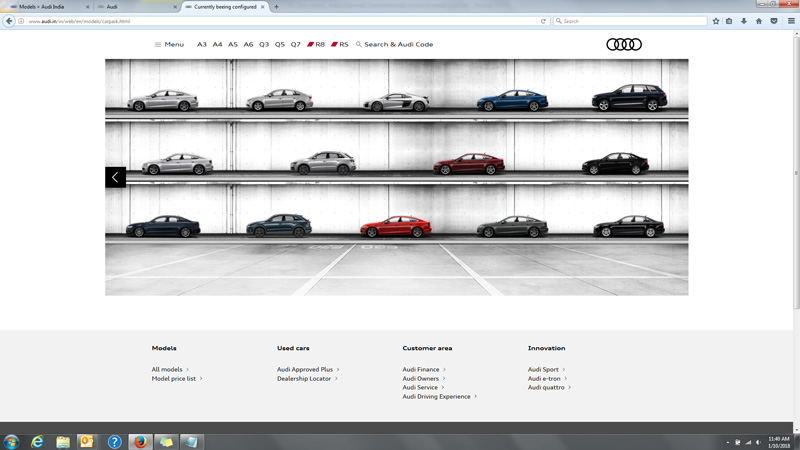 Audi Revamps its Website, All Set for 2018 Q5 Launch