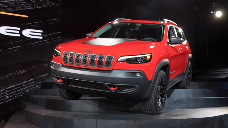 2019 Jeep Cherokee Breaks Cover, Details Right Here