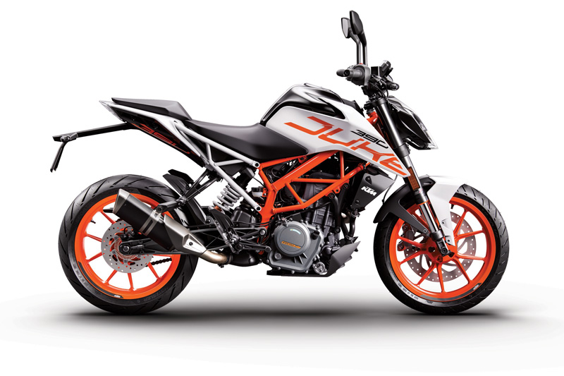 KTM Duke 390 Now Available in White Color Option