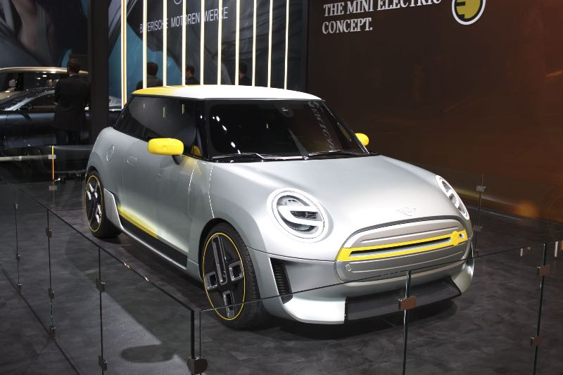 Electric Mini Cooper Most Likely in 2019