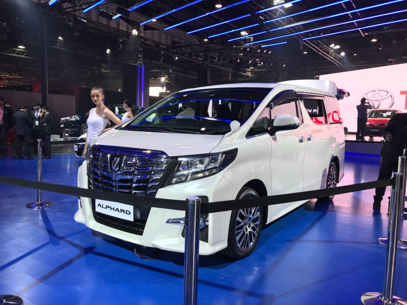 Toyota Showcases Alphard Premium MPV at Auto Expo, Plans to Get it Here