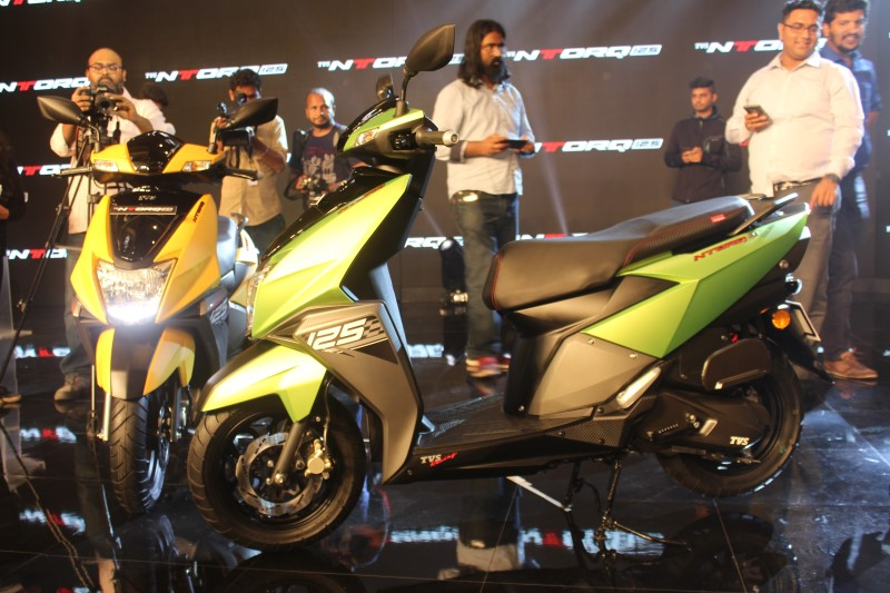 TVS NTORQ125 launched at Rs.58,750 ex-showroom