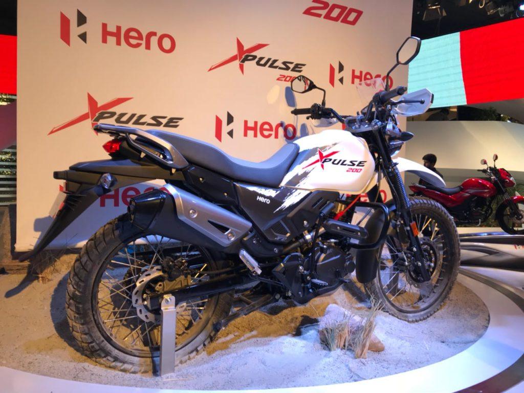 Auto Expo '18 : Hero unveils its 200cc Adventure Bike, The XPULSE