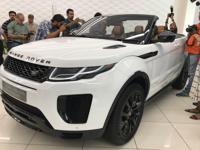 Live Range Rover Evoque Convertible Launched In India At Rs 69 53
