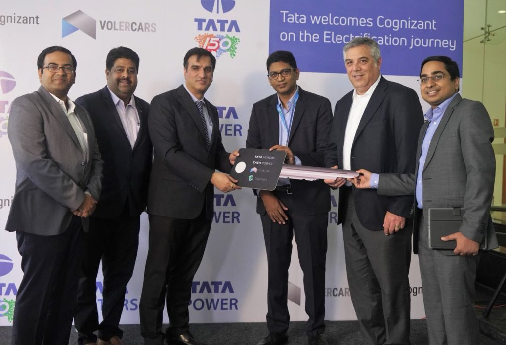 Tata Motors Bags Order To Supply EVs to Cognizant & Tata Power first to set-up public EV charging stations in Mumbai