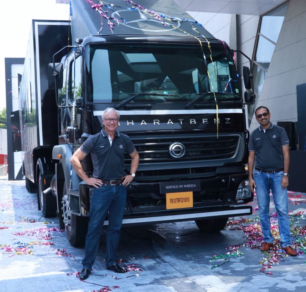 Mercedes-Benz India Launches Service On Wheels