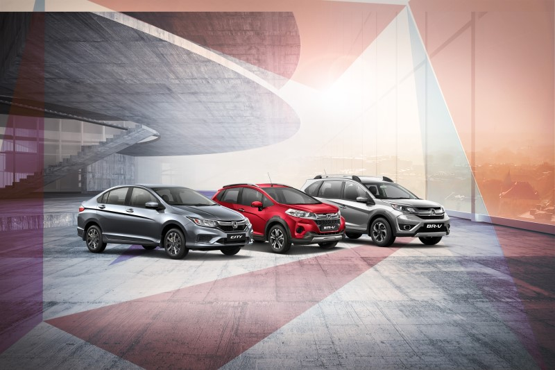 Honda Launches Special Edition City, WR-V and BR-V