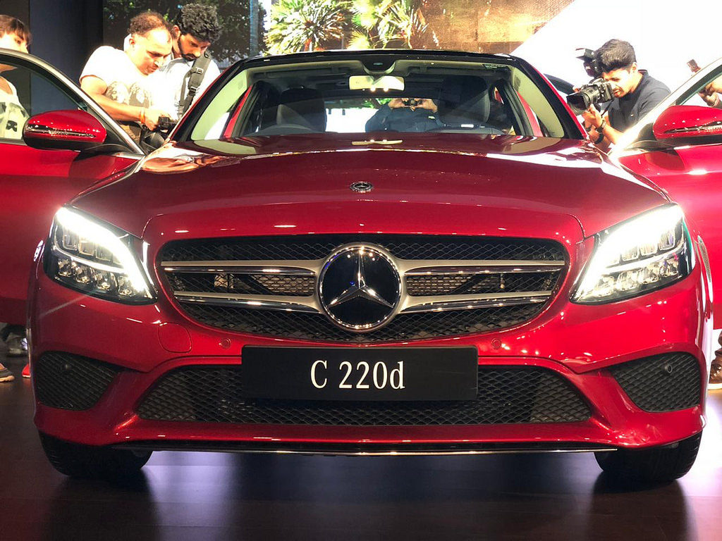 LIVE – 2018 Mercedes-Benz C-Class Launched at Rs. 40 Lakh