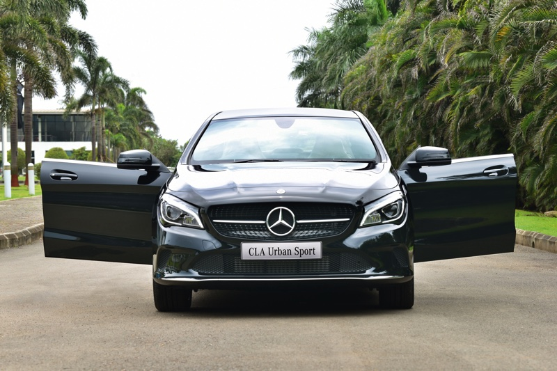 Mercedes-Benz Launches CLA Urban Sports at Rs. 35.99 Lakh