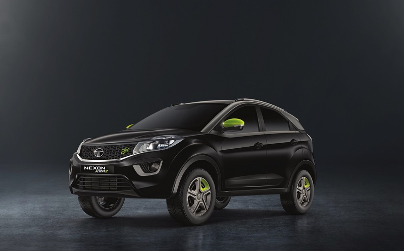 Tata Nexon KRAZ Launched to Celebrate the 1st Anniversary of the Tata Nexon at Rs.7.14 Lakh