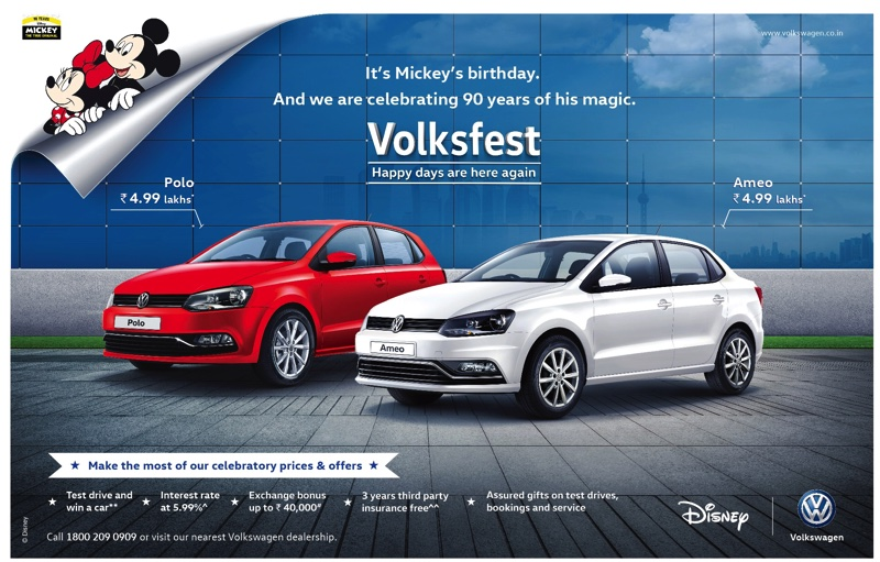 Volkswagens  Volksfest 2018 Begins with 'Happy Days Are Here Again' campaign