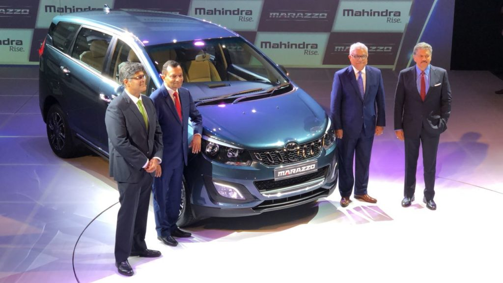 LIVE – Mahindra Marazzo Launched with Killer Pricing, Starts at Rs. 9.99 Lakh to Rs. 13.90 Lakh