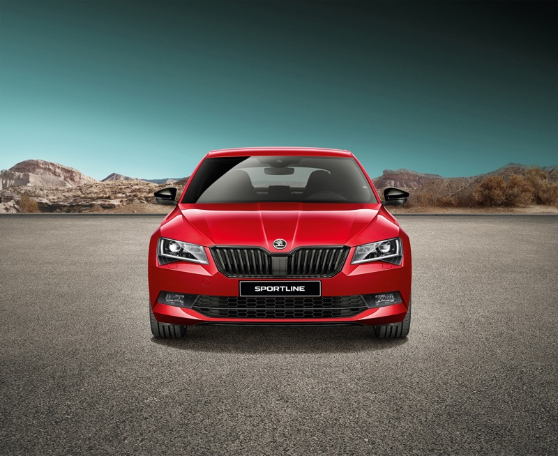 Launched – Skoda Superb Sportline Launched at ₹28.99 Lakh