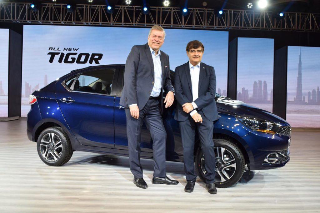 2018 Tata Tigor Launched at ₹5.20Lakh