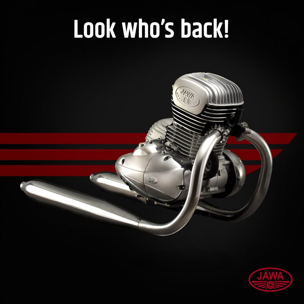 Revealed – Jawa is Back, Official 300cc Engine Specs & Pics Released
