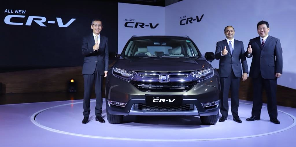 LIVE – Honda Launches 2018 CR-V at ₹28,15,000