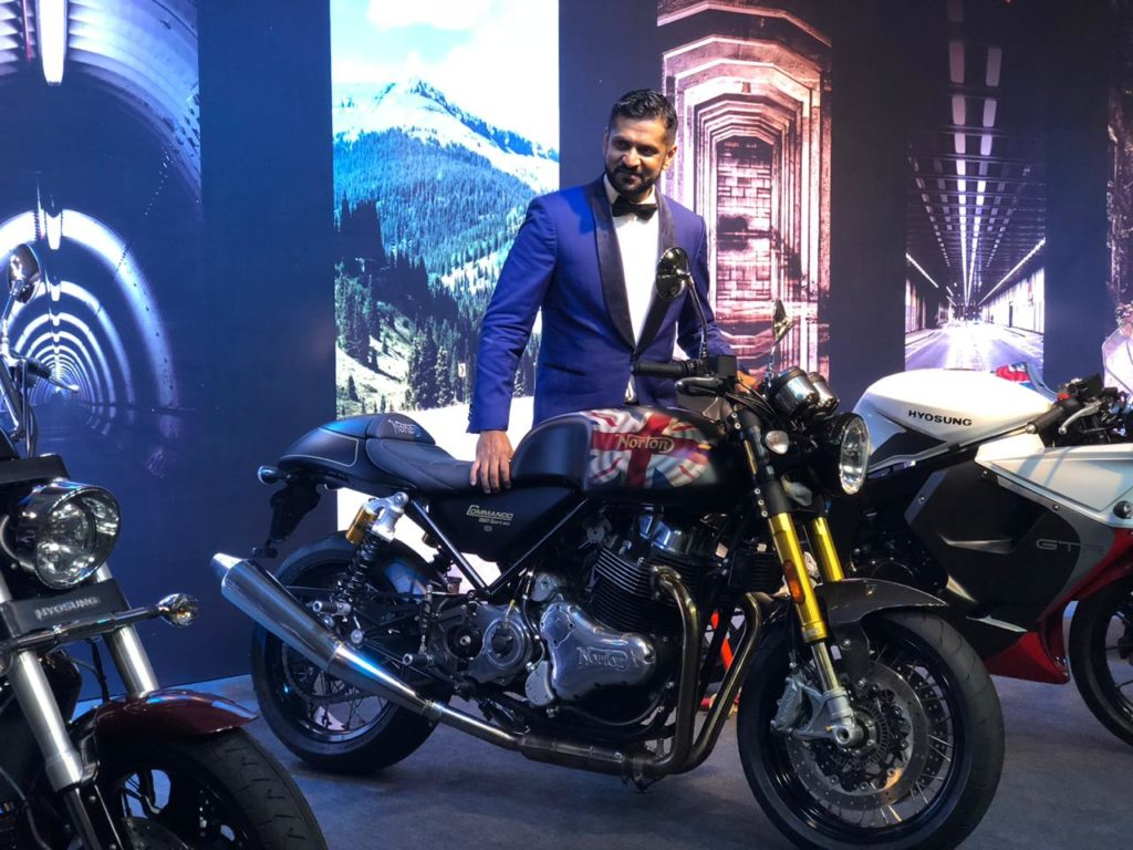Motoroyale, Kinetic Groups Launch 7 Superbikes in a day