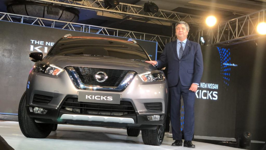 Unveiled – Nissan Unveils the KICKS Crossover SUV in India, Launch in early 2019
