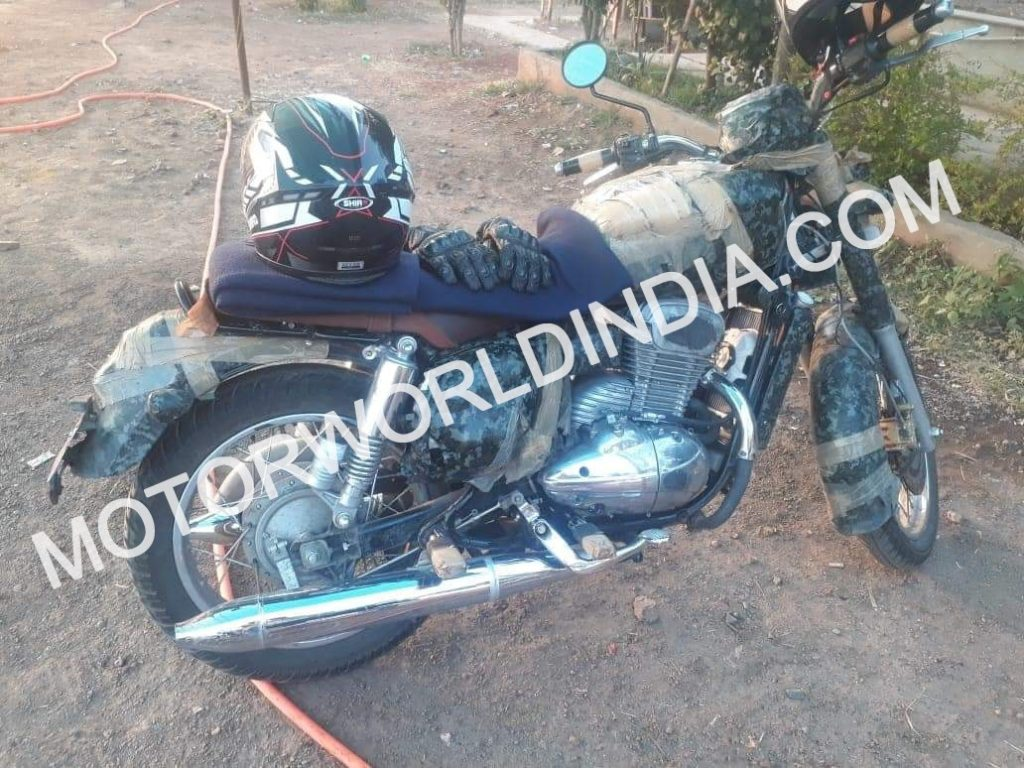 Exclusive Scoop – Exclusive Jawa 300 Spyshots