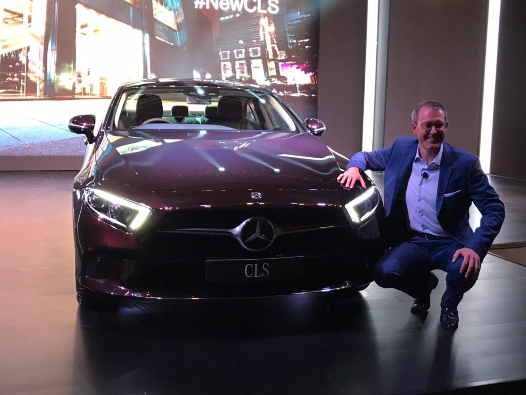 LIVE –  Mercedes-Benz Launches 2019 CLS in India at Rs.84.70 Lakh