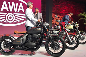 The all-new Jawa range of motorcycles launched at ₹1,55,000/-