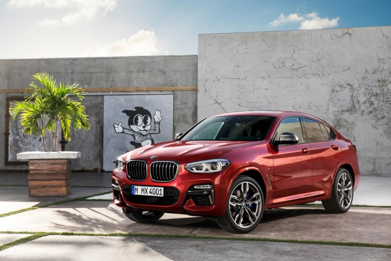 BMW X4 Launched in India at Rs. 60.60 Lakh