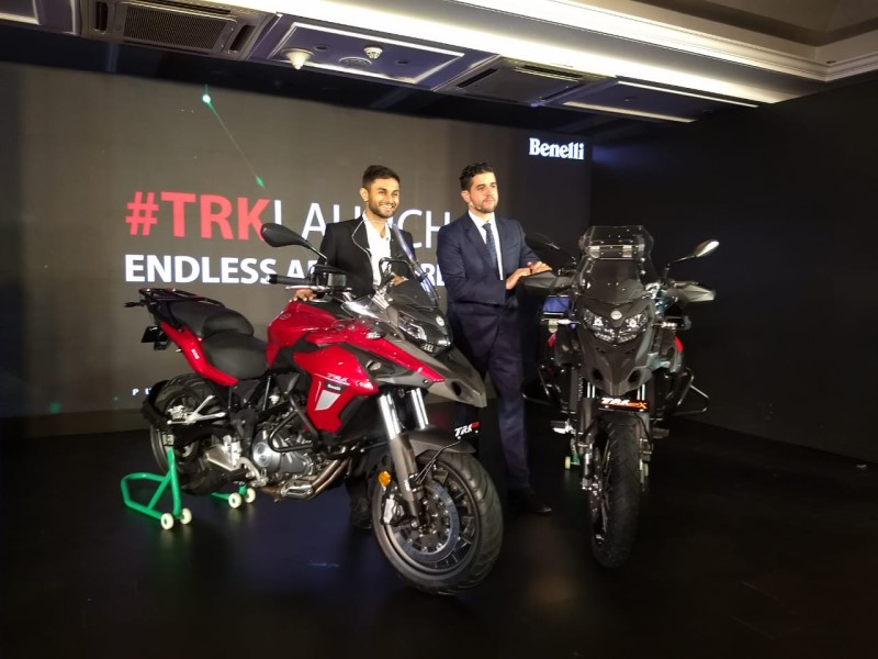 LIVE – Benelli TRK 502 & 502X Launched in India