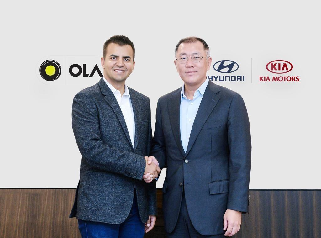 Hyundai Group (Hyundai & Kia) Invest $300 Million in Ola