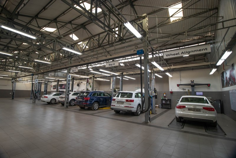 Audi Opens its Service Outlet in Thane