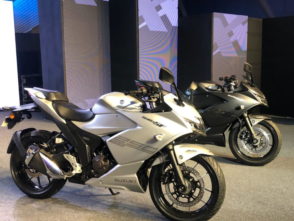 LIVE – Suzuki Gixxer SF250 Launched at ₹1.70 Lakh
