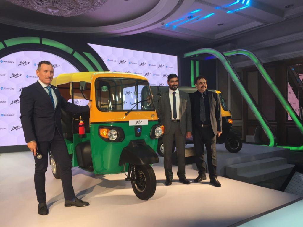 Piaggio Launches Ape' City+ 3 Wheeler