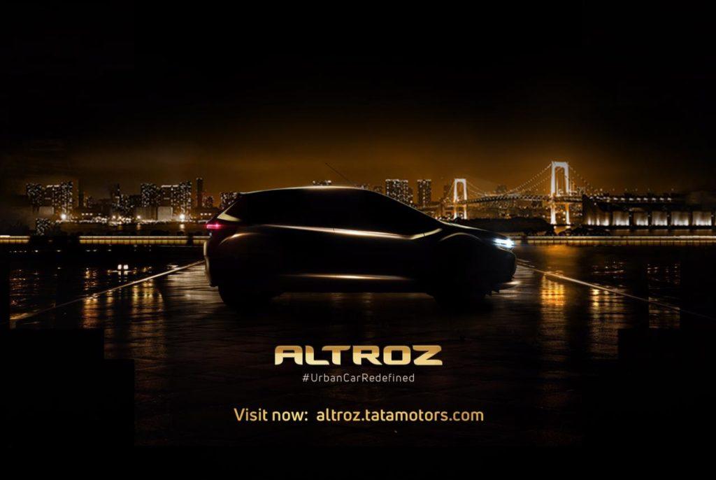 Tata Altroz teaser website goes LIVE