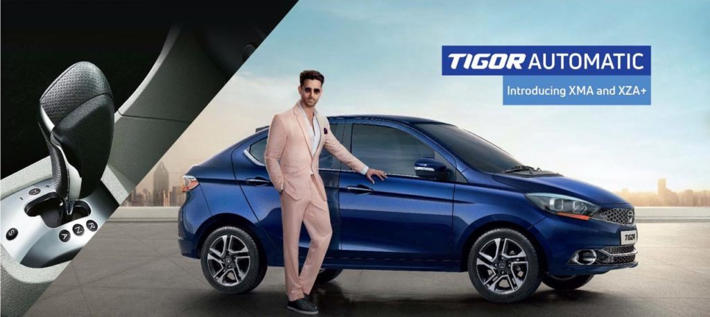 Tata Motor's launch two new variants of Tigor AMT Automatic