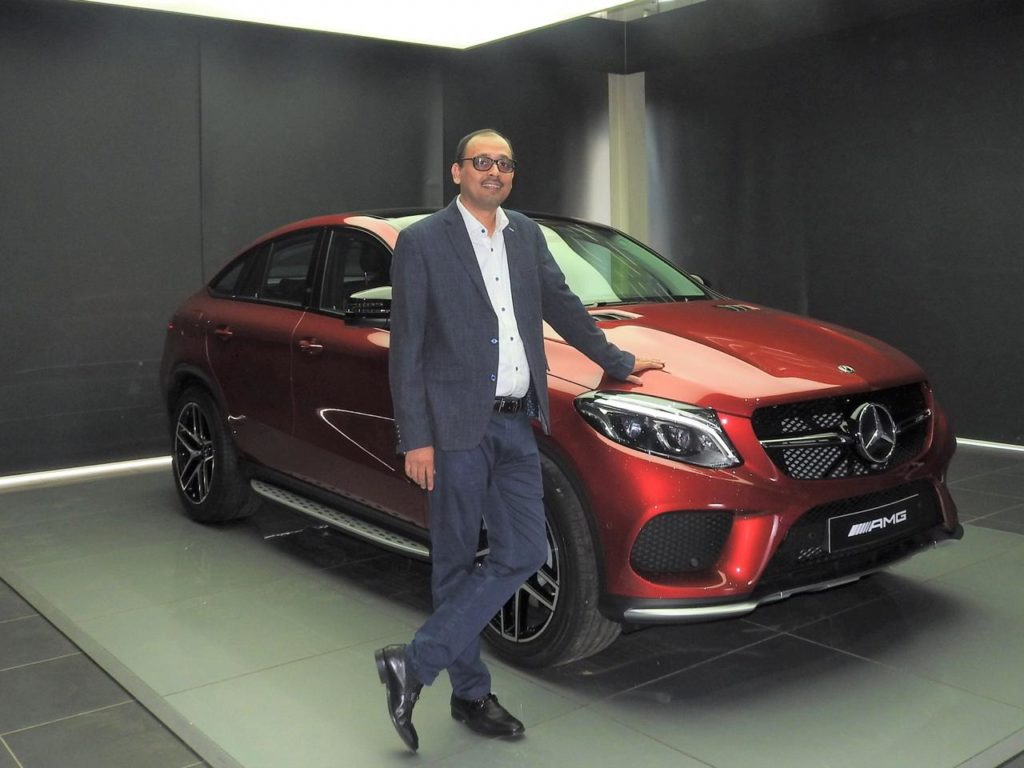 Santosh Iyer appointed as the Vice President, Sales & Marketing at Mercedes-Benz India