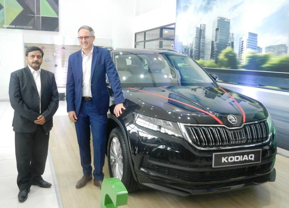 Skoda Auto inaugurate their latest 3S facility in Lucknow, Uttar Pradesh
