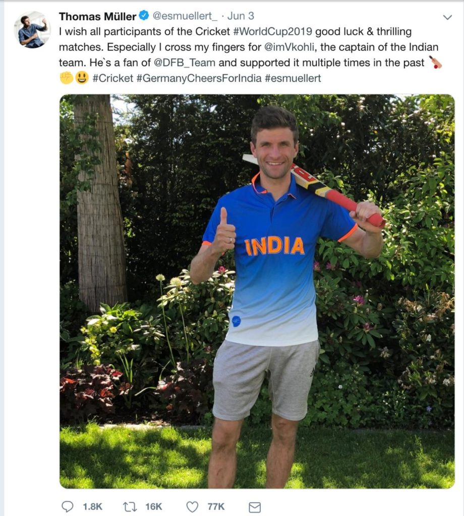 Volkswagen launch their latest campaign- #GermanyCheersForIndia for 2019 Cricket Worldcup